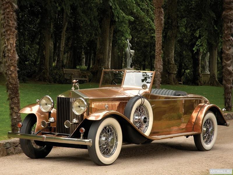 Постер Rolls-Royce Phantom Brewster Open Tourer (II) 1930, 27x20 см, на бумагеRolls-Royce<br>Постер на холсте или бумаге. Любого нужного вам размера. В раме или без. Подвес в комплекте. Трехслойная надежная упаковка. Доставим в любую точку России. Вам осталось только повесить картину на стену!<br>