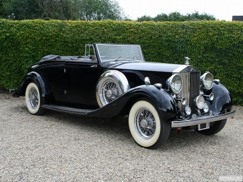 Постер Rolls-Royce Phantom Cabriolet by Mazzara &amp; Meyer (III) 1938, 27x20 см, на бумагеRolls-Royce<br>Постер на холсте или бумаге. Любого нужного вам размера. В раме или без. Подвес в комплекте. Трехслойная надежная упаковка. Доставим в любую точку России. Вам осталось только повесить картину на стену!<br>