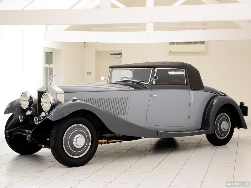 Постер Rolls-Royce Phantom Continental Drophead Coupe by Freestone &amp; Webb (II) 1932, 27x20 см, на бумагеRolls-Royce<br>Постер на холсте или бумаге. Любого нужного вам размера. В раме или без. Подвес в комплекте. Трехслойная надежная упаковка. Доставим в любую точку России. Вам осталось только повесить картину на стену!<br>