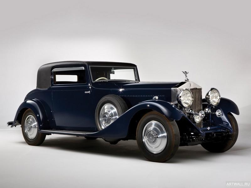 Постер Rolls-Royce Phantom Continental Sport Coupe (II) 1933, 27x20 см, на бумагеRolls-Royce<br>Постер на холсте или бумаге. Любого нужного вам размера. В раме или без. Подвес в комплекте. Трехслойная надежная упаковка. Доставим в любую точку России. Вам осталось только повесить картину на стену!<br>