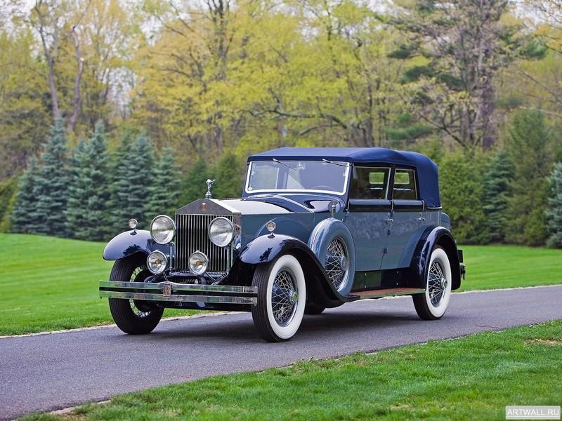 Постер Rolls-Royce Phantom Convertible Sedan by Hibbard &amp; Darrin (I) 1929, 27x20 см, на бумагеRolls-Royce<br>Постер на холсте или бумаге. Любого нужного вам размера. В раме или без. Подвес в комплекте. Трехслойная надежная упаковка. Доставим в любую точку России. Вам осталось только повесить картину на стену!<br>