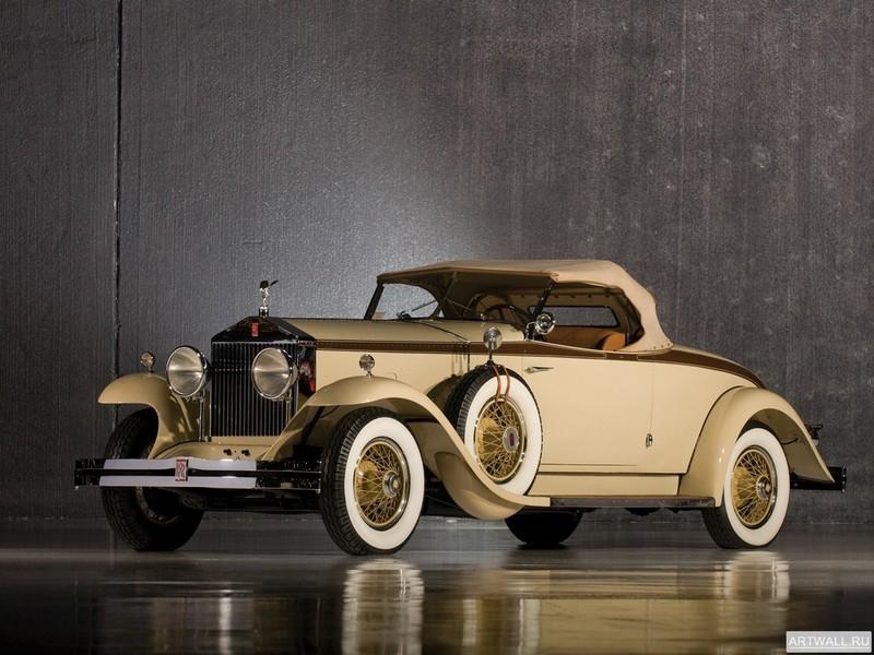 Постер Rolls-Royce Phantom Henley Roadster (I) 1929, 27x20 см, на бумагеRolls-Royce<br>Постер на холсте или бумаге. Любого нужного вам размера. В раме или без. Подвес в комплекте. Трехслойная надежная упаковка. Доставим в любую точку России. Вам осталось только повесить картину на стену!<br>