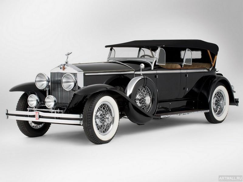 Постер Rolls-Royce Phantom I Ascot Sport Phaeton 1929, 27x20 см, на бумагеRolls-Royce<br>Постер на холсте или бумаге. Любого нужного вам размера. В раме или без. Подвес в комплекте. Трехслойная надежная упаковка. Доставим в любую точку России. Вам осталось только повесить картину на стену!<br>