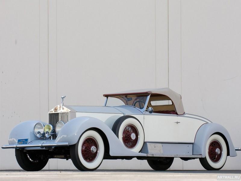 Rolls-Royce Phantom Imperial Cabriolet by Hibbard &amp; Darrin (II) 1929, 27x20 см, на бумагеRolls-Royce<br>Постер на холсте или бумаге. Любого нужного вам размера. В раме или без. Подвес в комплекте. Трехслойная надежная упаковка. Доставим в любую точку России. Вам осталось только повесить картину на стену!<br>