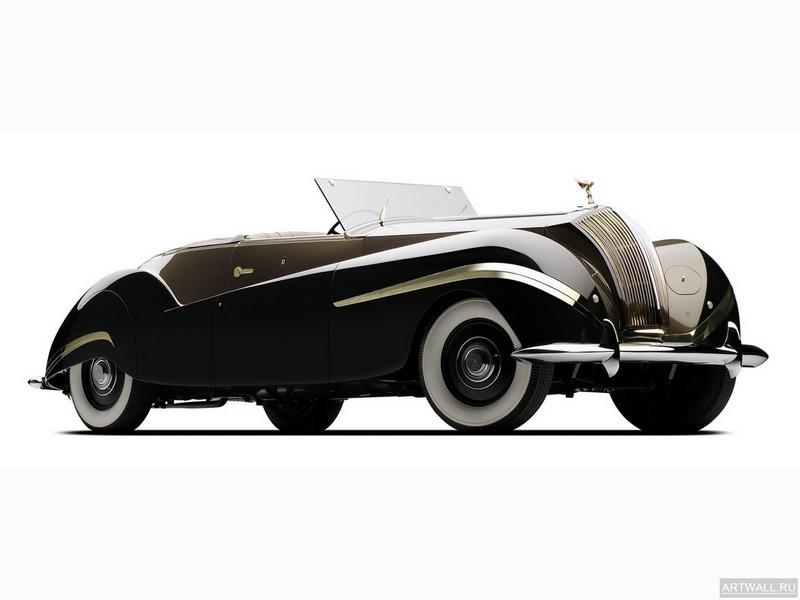 Постер Rolls-Royce Phantom Labourdette Vutotal Cabriolet (III) 1947, 27x20 см, на бумагеRolls-Royce<br>Постер на холсте или бумаге. Любого нужного вам размера. В раме или без. Подвес в комплекте. Трехслойная надежная упаковка. Доставим в любую точку России. Вам осталось только повесить картину на стену!<br>