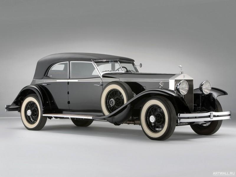 Постер Rolls-Royce Phantom Permanent Newmarket Sport Sedan (II) 1932, 27x20 см, на бумагеRolls-Royce<br>Постер на холсте или бумаге. Любого нужного вам размера. В раме или без. Подвес в комплекте. Трехслойная надежная упаковка. Доставим в любую точку России. Вам осталось только повесить картину на стену!<br>