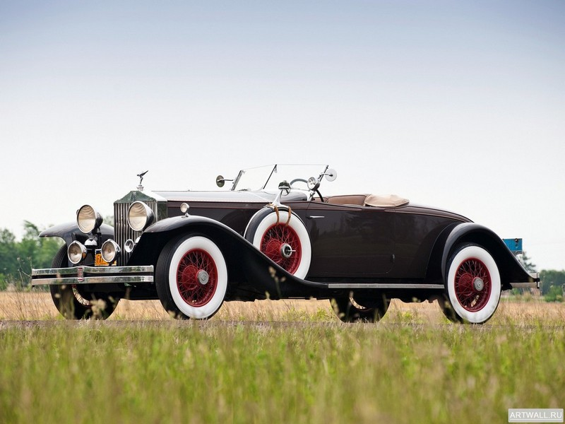 Rolls-Royce Phantom Roadster by Brewster (II) 1931, 27x20 см, на бумагеRolls-Royce<br>Постер на холсте или бумаге. Любого нужного вам размера. В раме или без. Подвес в комплекте. Трехслойная надежная упаковка. Доставим в любую точку России. Вам осталось только повесить картину на стену!<br>