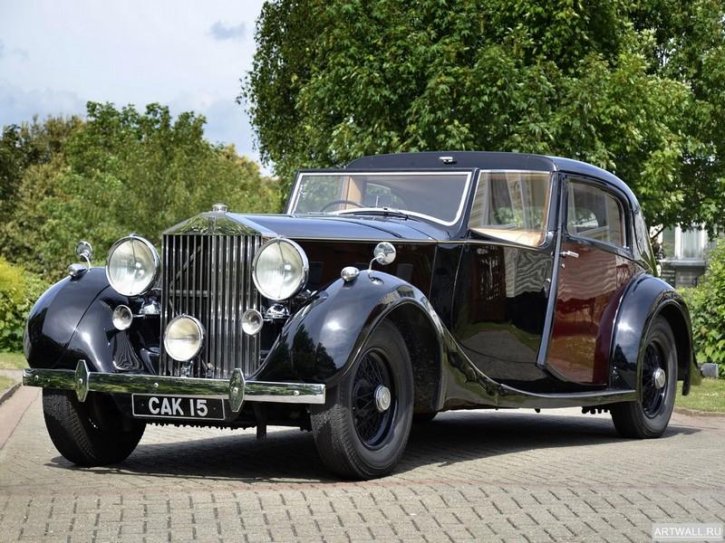 Постер Rolls-Royce Phantom Sedanca de Ville (III) 1937, 27x20 см, на бумагеRolls-Royce<br>Постер на холсте или бумаге. Любого нужного вам размера. В раме или без. Подвес в комплекте. Трехслойная надежная упаковка. Доставим в любую точку России. Вам осталось только повесить картину на стену!<br>