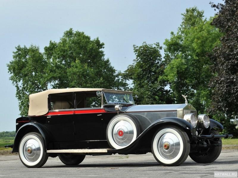 Постер Rolls-Royce Phantom Springfield by Brewster (I) 1928, 27x20 см, на бумагеRolls-Royce<br>Постер на холсте или бумаге. Любого нужного вам размера. В раме или без. Подвес в комплекте. Трехслойная надежная упаковка. Доставим в любую точку России. Вам осталось только повесить картину на стену!<br>