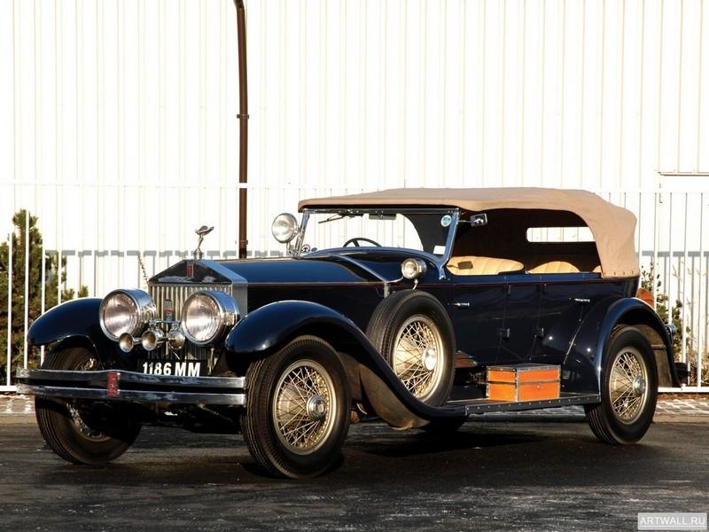 Постер Rolls-Royce Silver Ghost 40 50 Torpedo Tourer by Holbrook 1923, 27x20 см, на бумагеRolls-Royce<br>Постер на холсте или бумаге. Любого нужного вам размера. В раме или без. Подвес в комплекте. Трехслойная надежная упаковка. Доставим в любую точку России. Вам осталось только повесить картину на стену!<br>