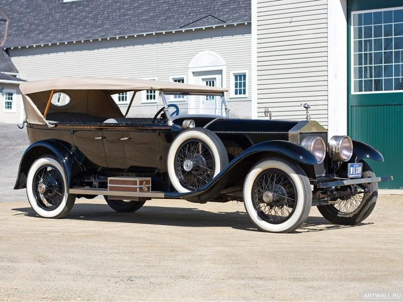 Постер Rolls-Royce Silver Ghost Oxford Custom Tourer 1923, 27x20 см, на бумагеRolls-Royce<br>Постер на холсте или бумаге. Любого нужного вам размера. В раме или без. Подвес в комплекте. Трехслойная надежная упаковка. Доставим в любую точку России. Вам осталось только повесить картину на стену!<br>