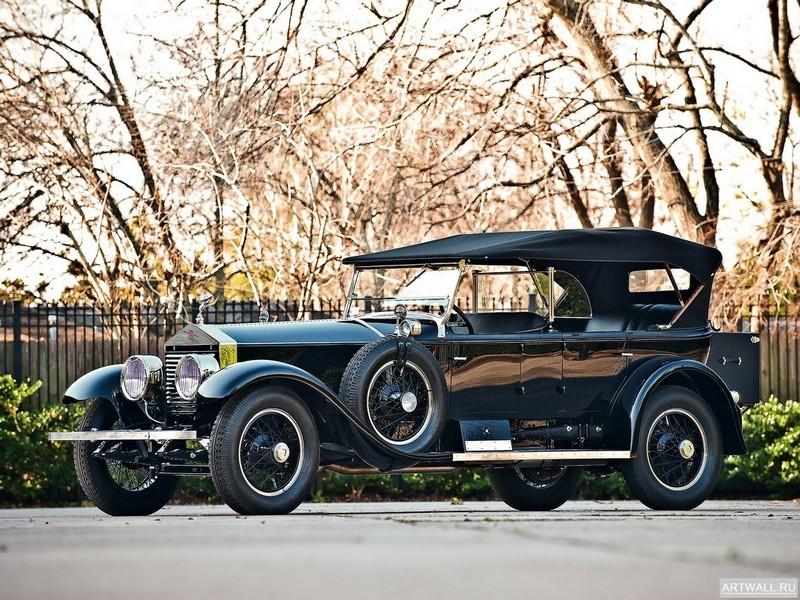Rolls-Royce Silver Ghost Pall Mall Tourer by Merrimac 1926, 27x20 см, на бумагеRolls-Royce<br>Постер на холсте или бумаге. Любого нужного вам размера. В раме или без. Подвес в комплекте. Трехслойная надежная упаковка. Доставим в любую точку России. Вам осталось только повесить картину на стену!<br>
