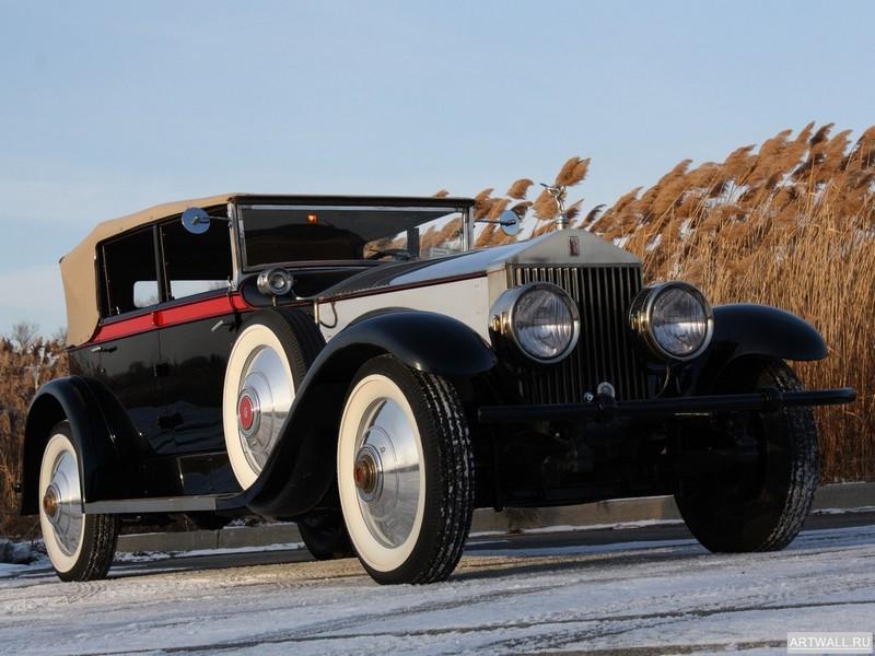 Постер Rolls-Royce Springfield Phantom by Brewster (I) 1928, 27x20 см, на бумагеRolls-Royce<br>Постер на холсте или бумаге. Любого нужного вам размера. В раме или без. Подвес в комплекте. Трехслойная надежная упаковка. Доставим в любую точку России. Вам осталось только повесить картину на стену!<br>