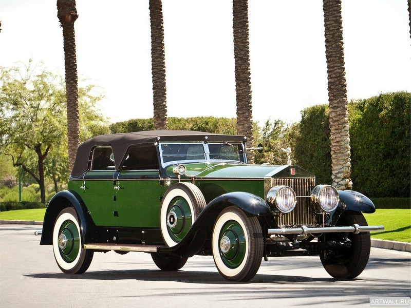 Rolls-Royce Springfield Phantom Convertible Sedan by Hibbard &amp; Darrin (I) 1929, 27x20 см, на бумагеRolls-Royce<br>Постер на холсте или бумаге. Любого нужного вам размера. В раме или без. Подвес в комплекте. Трехслойная надежная упаковка. Доставим в любую точку России. Вам осталось только повесить картину на стену!<br>