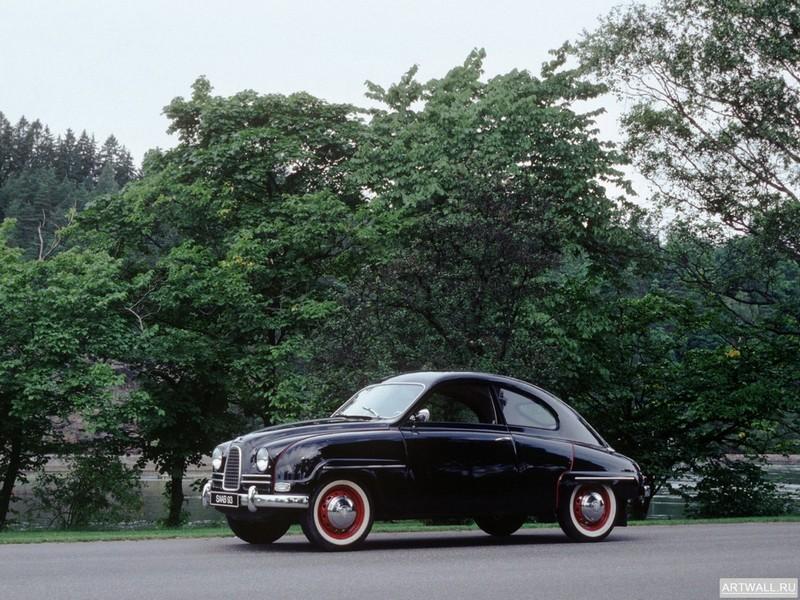 Постер Saab 92 Prototype (UrSaab) 1947, 27x20 см, на бумагеSaab<br>Постер на холсте или бумаге. Любого нужного вам размера. В раме или без. Подвес в комплекте. Трехслойная надежная упаковка. Доставим в любую точку России. Вам осталось только повесить картину на стену!<br>