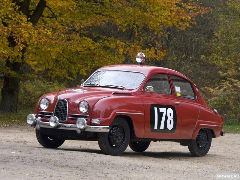 Постер Saab 96 1965-69, 27x20 см, на бумагеSaab<br>Постер на холсте или бумаге. Любого нужного вам размера. В раме или без. Подвес в комплекте. Трехслойная надежная упаковка. Доставим в любую точку России. Вам осталось только повесить картину на стену!<br>