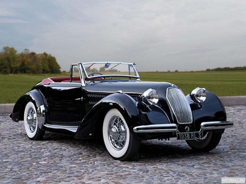 Постер Talbot-Lago T26 Record Drophead Coupe 1949, 27x20 см, на бумагеTalbot<br>Постер на холсте или бумаге. Любого нужного вам размера. В раме или без. Подвес в комплекте. Трехслойная надежная упаковка. Доставим в любую точку России. Вам осталось только повесить картину на стену!<br>
