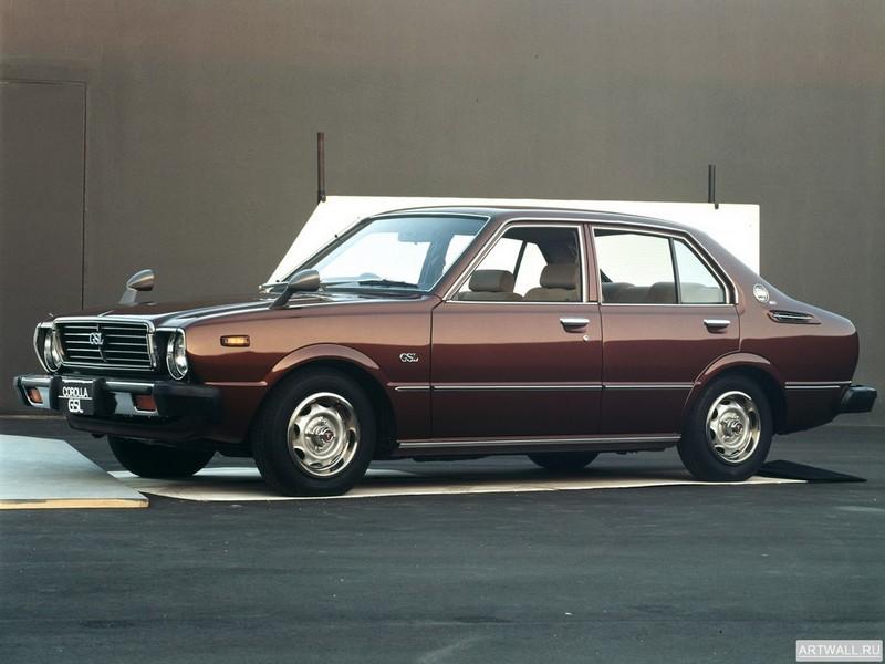 Постер Toyota Corolla 4-door Sedan (E31) 1974-79, 27x20 см, на бумагеToyota<br>Постер на холсте или бумаге. Любого нужного вам размера. В раме или без. Подвес в комплекте. Трехслойная надежная упаковка. Доставим в любую точку России. Вам осталось только повесить картину на стену!<br>