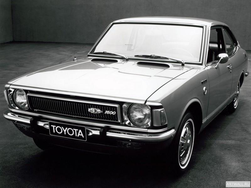 Постер Toyota Corolla Coupe US-spec (TE27) 1970-74, 27x20 см, на бумагеToyota<br>Постер на холсте или бумаге. Любого нужного вам размера. В раме или без. Подвес в комплекте. Трехслойная надежная упаковка. Доставим в любую точку России. Вам осталось только повесить картину на стену!<br>