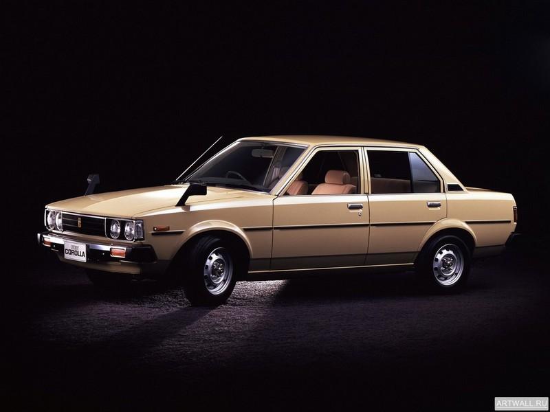 Toyota Corolla Sedan JP-spec (E70) 1979-83, 27x20 см, на бумагеToyota<br>Постер на холсте или бумаге. Любого нужного вам размера. В раме или без. Подвес в комплекте. Трехслойная надежная упаковка. Доставим в любую точку России. Вам осталось только повесить картину на стену!<br>