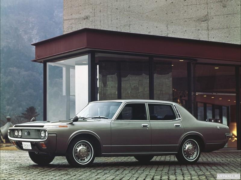 Постер Toyota Crown (S60,S70) 1971-74, 27x20 см, на бумагеToyota<br>Постер на холсте или бумаге. Любого нужного вам размера. В раме или без. Подвес в комплекте. Трехслойная надежная упаковка. Доставим в любую точку России. Вам осталось только повесить картину на стену!<br>