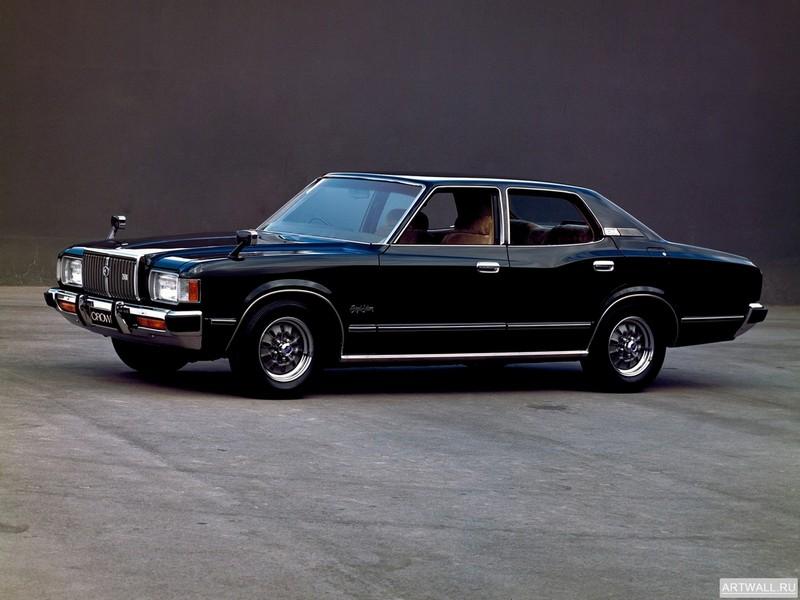 Постер Toyota Crown Hardtop (S80) 1974-79, 27x20 см, на бумагеToyota<br>Постер на холсте или бумаге. Любого нужного вам размера. В раме или без. Подвес в комплекте. Трехслойная надежная упаковка. Доставим в любую точку России. Вам осталось только повесить картину на стену!<br>