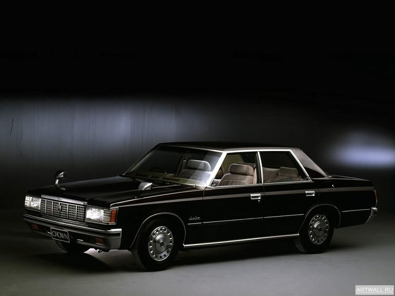Toyota Crown Super Saloon 4-door Hardtop (MS110) 1979-83, 27x20 см, на бумагеToyota<br>Постер на холсте или бумаге. Любого нужного вам размера. В раме или без. Подвес в комплекте. Трехслойная надежная упаковка. Доставим в любую точку России. Вам осталось только повесить картину на стену!<br>
