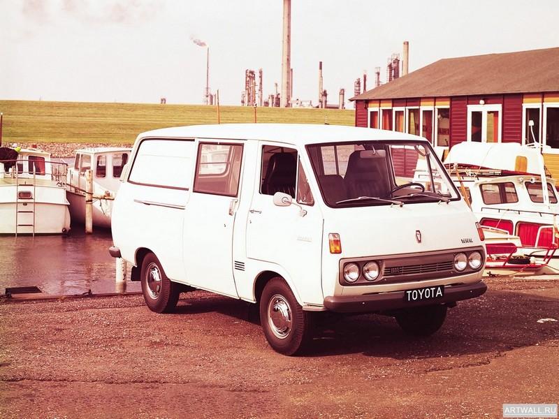 Постер Toyota Hiace Van 1967-77, 27x20 см, на бумагеToyota<br>Постер на холсте или бумаге. Любого нужного вам размера. В раме или без. Подвес в комплекте. Трехслойная надежная упаковка. Доставим в любую точку России. Вам осталось только повесить картину на стену!<br>