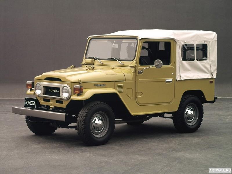 Toyota Land Cruiser (BJ40L) 1973-79, 27x20 см, на бумагеToyota<br>Постер на холсте или бумаге. Любого нужного вам размера. В раме или без. Подвес в комплекте. Трехслойная надежная упаковка. Доставим в любую точку России. Вам осталось только повесить картину на стену!<br>