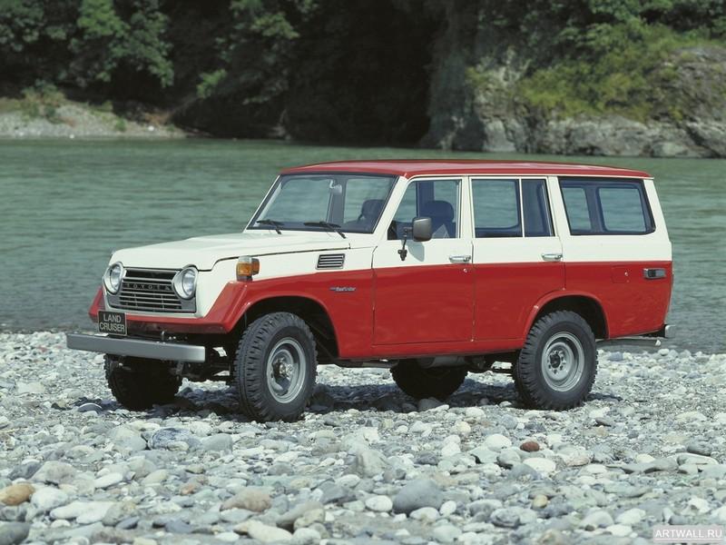 Постер Toyota Land Cruiser 50 US-spec (FJ56VL) 1975-79, 27x20 см, на бумагеToyota<br>Постер на холсте или бумаге. Любого нужного вам размера. В раме или без. Подвес в комплекте. Трехслойная надежная упаковка. Доставим в любую точку России. Вам осталось только повесить картину на стену!<br>