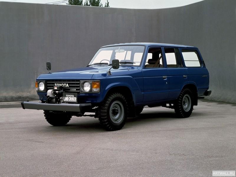 Постер Toyota Land Cruiser 60 STD JP-spec (HJ60V) 1980-87, 27x20 см, на бумагеToyota<br>Постер на холсте или бумаге. Любого нужного вам размера. В раме или без. Подвес в комплекте. Трехслойная надежная упаковка. Доставим в любую точку России. Вам осталось только повесить картину на стену!<br>