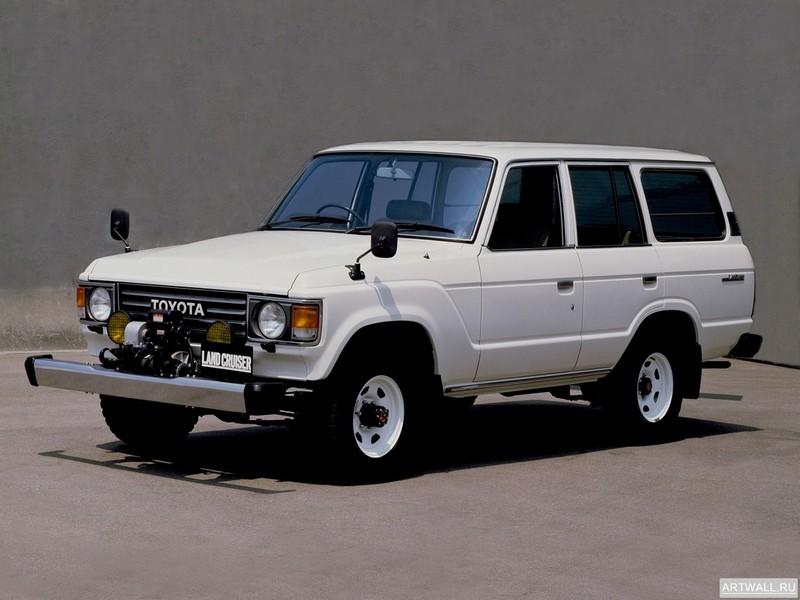 Постер Toyota Land Cruiser 60 Wagon JP-spec (HJ60V) 1980-87, 27x20 см, на бумагеToyota<br>Постер на холсте или бумаге. Любого нужного вам размера. В раме или без. Подвес в комплекте. Трехслойная надежная упаковка. Доставим в любую точку России. Вам осталось только повесить картину на стену!<br>
