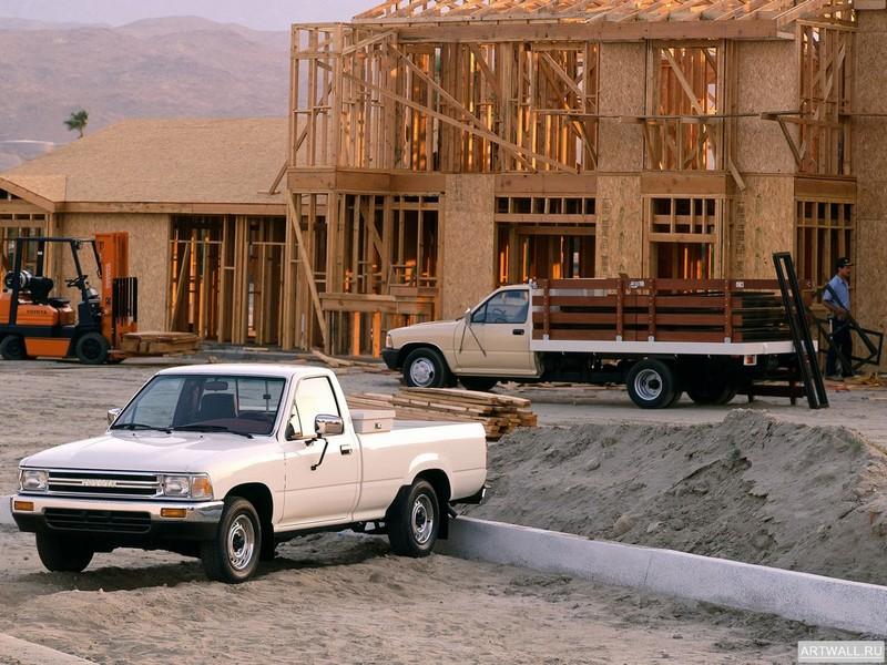 Toyota Truck, 27x20 см, на бумагеToyota<br>Постер на холсте или бумаге. Любого нужного вам размера. В раме или без. Подвес в комплекте. Трехслойная надежная упаковка. Доставим в любую точку России. Вам осталось только повесить картину на стену!<br>