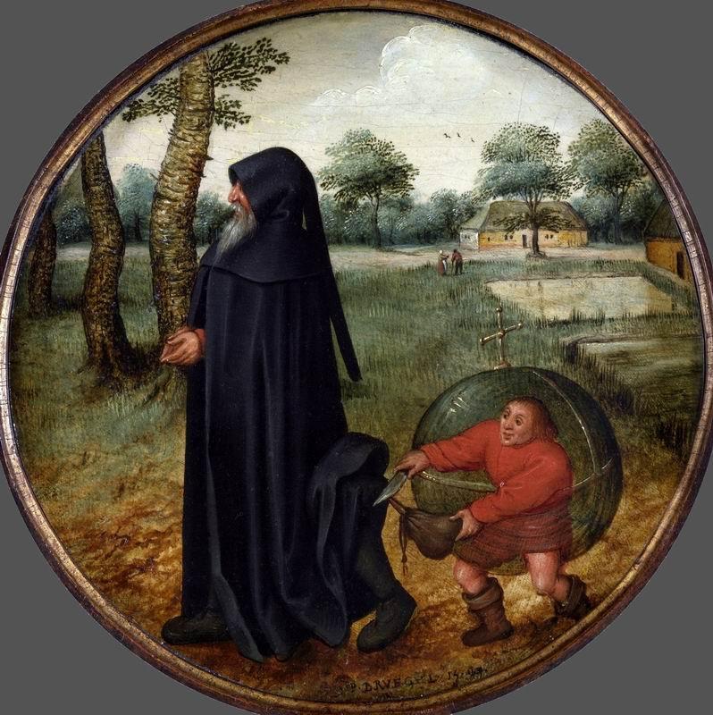"Брейгель Питер младший, картина ""Фламандские пословицы-8"" от Artwall"