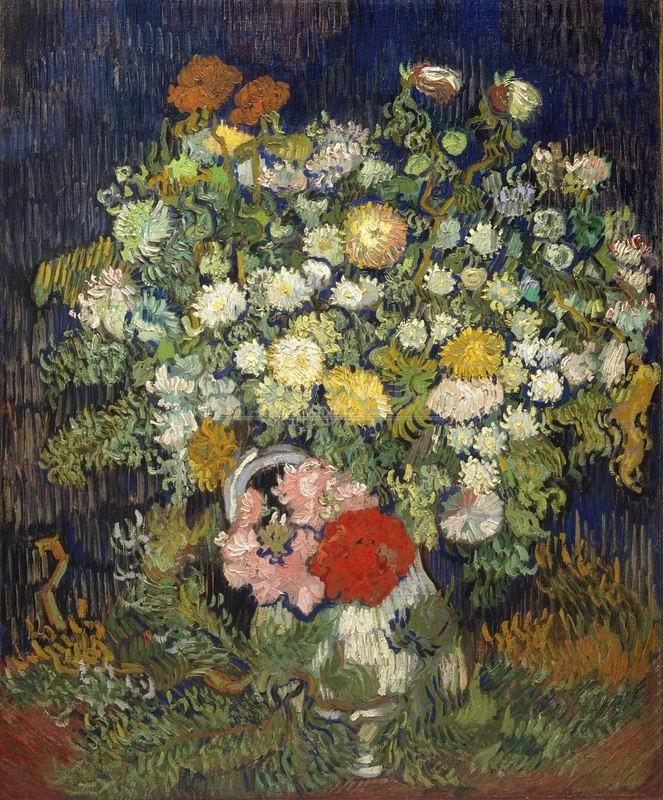Ван Гог Винсент, картина Ваза с цветами, 1890Ван Гог Винсент<br>Репродукция на холсте или бумаге. Любого нужного вам размера. В раме или без. Подвес в комплекте. Трехслойная надежная упаковка. Доставим в любую точку России. Вам осталось только повесить картину на стену!<br>