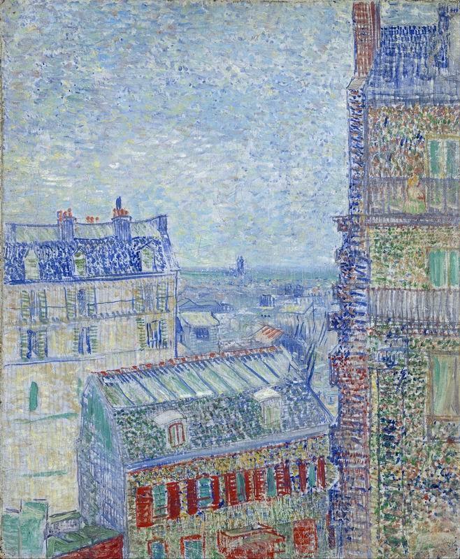 Ван Гог Винсент, картина Вид на Париж из окна художникаВан Гог Винсент<br>Репродукция на холсте или бумаге. Любого нужного вам размера. В раме или без. Подвес в комплекте. Трехслойная надежная упаковка. Доставим в любую точку России. Вам осталось только повесить картину на стену!<br>