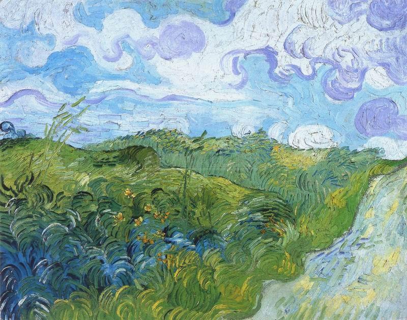 Ван Гог Винсент, картина Зеленое пшеничное полеВан Гог Винсент<br>Репродукция на холсте или бумаге. Любого нужного вам размера. В раме или без. Подвес в комплекте. Трехслойная надежная упаковка. Доставим в любую точку России. Вам осталось только повесить картину на стену!<br>