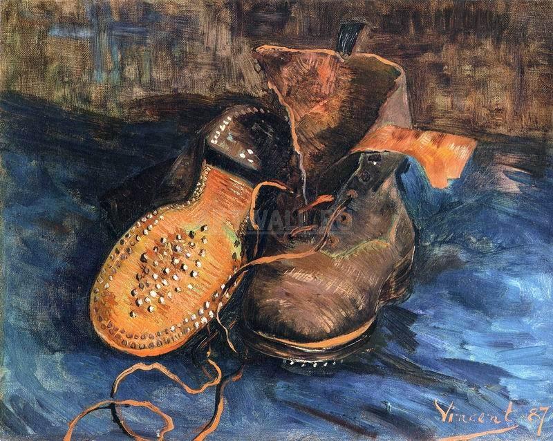 Ван Гог Винсент, картина Пара ботинок, 1887Ван Гог Винсент<br>Репродукция на холсте или бумаге. Любого нужного вам размера. В раме или без. Подвес в комплекте. Трехслойная надежная упаковка. Доставим в любую точку России. Вам осталось только повесить картину на стену!<br>
