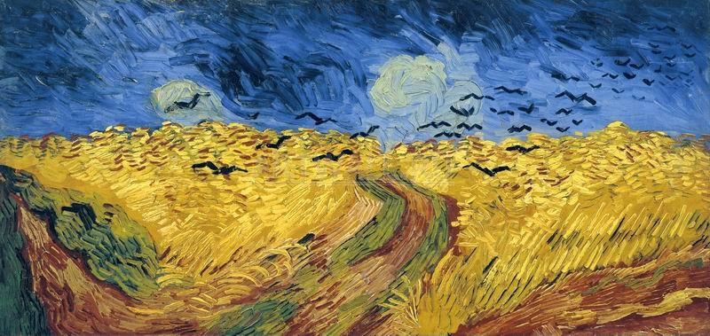 Ван Гог Винсент, картина Пшеничное поле с воронамиВан Гог Винсент<br>Репродукция на холсте или бумаге. Любого нужного вам размера. В раме или без. Подвес в комплекте. Трехслойная надежная упаковка. Доставим в любую точку России. Вам осталось только повесить картину на стену!<br>