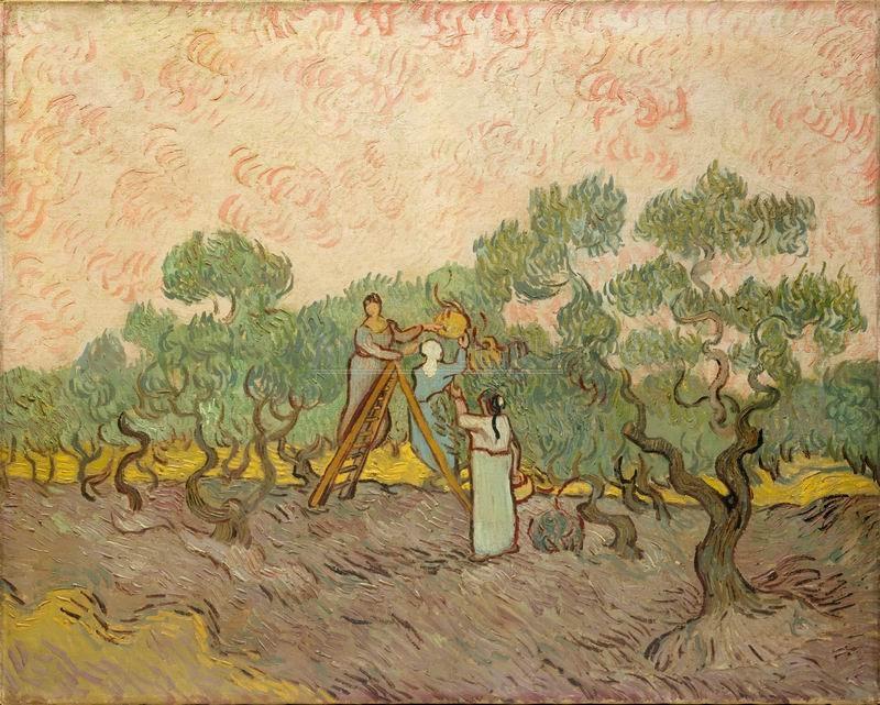 Ван Гог Винсент, картина Сбор оливок, 1889Ван Гог Винсент<br>Репродукция на холсте или бумаге. Любого нужного вам размера. В раме или без. Подвес в комплекте. Трехслойная надежная упаковка. Доставим в любую точку России. Вам осталось только повесить картину на стену!<br>