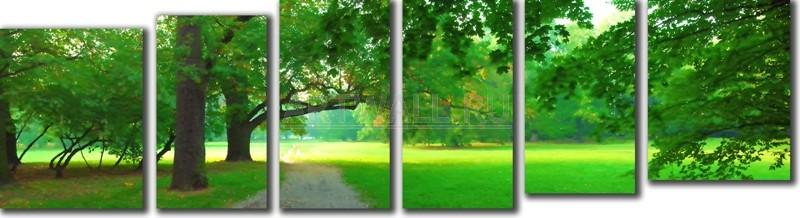 Модульная картина «Солнечный день»Природа<br>Модульная картина на натуральном холсте и деревянном подрамнике. Подвес в комплекте. Трехслойная надежная упаковка. Доставим в любую точку России. Вам осталось только повесить картину на стену!<br>
