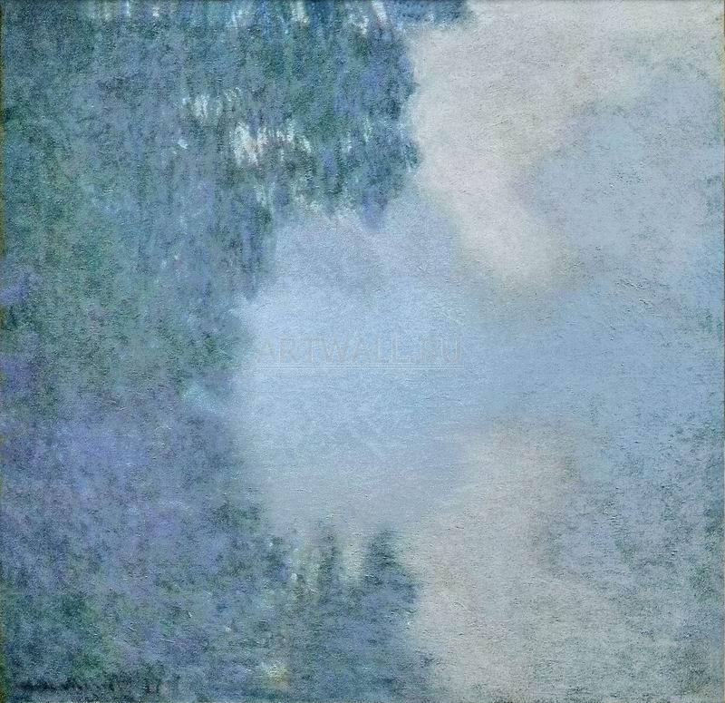 Моне Клод, картина Утро на СенеМоне Клод<br>Репродукция на холсте или бумаге. Любого нужного вам размера. В раме или без. Подвес в комплекте. Трехслойная надежная упаковка. Доставим в любую точку России. Вам осталось только повесить картину на стену!<br>