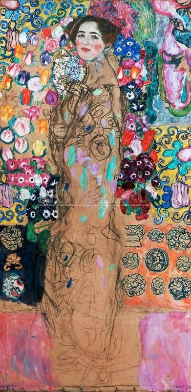 Климт Густав, картина Портрет Риа МункКлимт Густав<br>Репродукция на холсте или бумаге. Любого нужного вам размера. В раме или без. Подвес в комплекте. Трехслойная надежная упаковка. Доставим в любую точку России. Вам осталось только повесить картину на стену!<br>