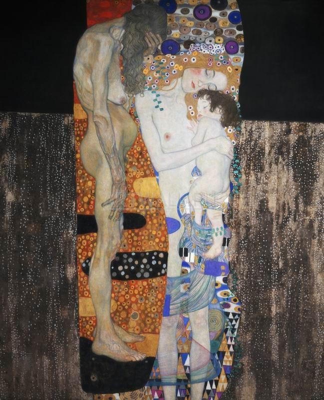Климт Густав, картина Три возраста женщиныКлимт Густав<br>Репродукция на холсте или бумаге. Любого нужного вам размера. В раме или без. Подвес в комплекте. Трехслойная надежная упаковка. Доставим в любую точку России. Вам осталось только повесить картину на стену!<br>