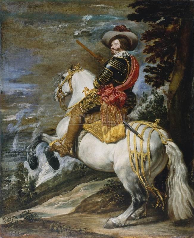 Веласкес Диего, картина Конный портрет Гаспара де Гусмана, графа-герцога ОливаресаВеласкес Диего<br>Репродукция на холсте или бумаге. Любого нужного вам размера. В раме или без. Подвес в комплекте. Трехслойная надежная упаковка. Доставим в любую точку России. Вам осталось только повесить картину на стену!<br>