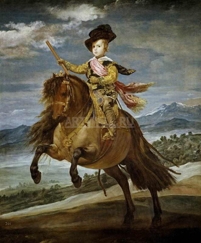 Веласкес Диего, картина Конный портрет принца Бальтазара КарлосаВеласкес Диего<br>Репродукция на холсте или бумаге. Любого нужного вам размера. В раме или без. Подвес в комплекте. Трехслойная надежная упаковка. Доставим в любую точку России. Вам осталось только повесить картину на стену!<br>