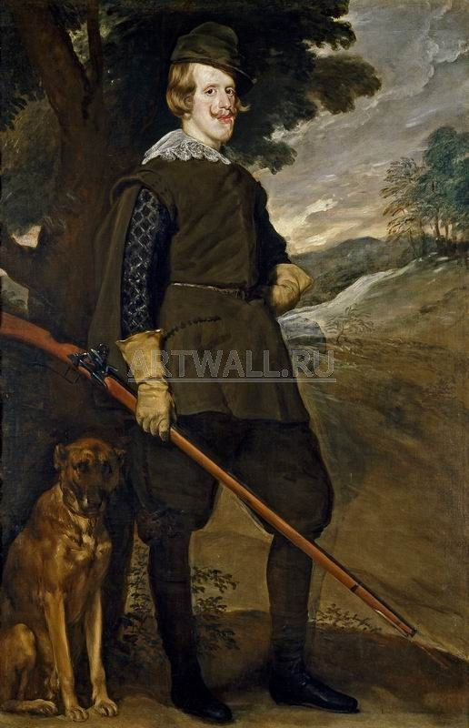 Веласкес Диего, картина Портрет Филиппа IV, короля ИспанииВеласкес Диего<br>Репродукция на холсте или бумаге. Любого нужного вам размера. В раме или без. Подвес в комплекте. Трехслойная надежная упаковка. Доставим в любую точку России. Вам осталось только повесить картину на стену!<br>