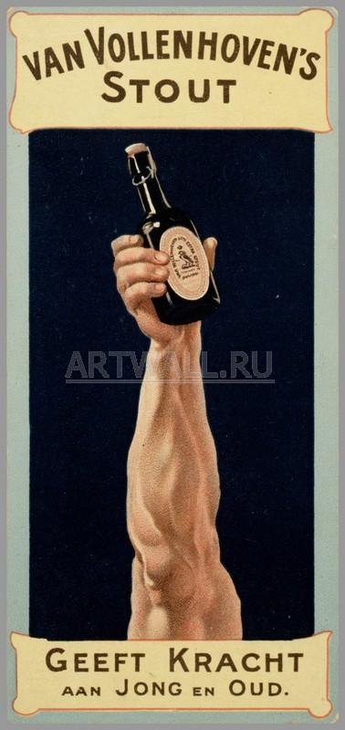 Постер 28749, 20x42 см, на бумагеПиво - ретро реклама<br>Постер на холсте или бумаге. Любого нужного вам размера. В раме или без. Подвес в комплекте. Трехслойная надежная упаковка. Доставим в любую точку России. Вам осталось только повесить картину на стену!<br>