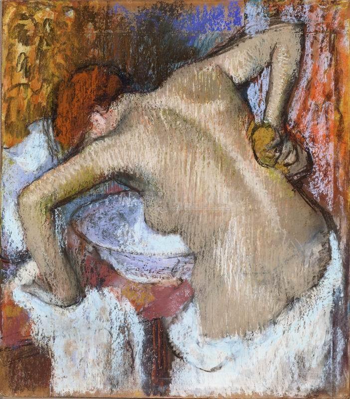 Дега Эдгар, картина Женщина за туалетомДега Эдгар<br>Репродукция на холсте или бумаге. Любого нужного вам размера. В раме или без. Подвес в комплекте. Трехслойная надежная упаковка. Доставим в любую точку России. Вам осталось только повесить картину на стену!<br>