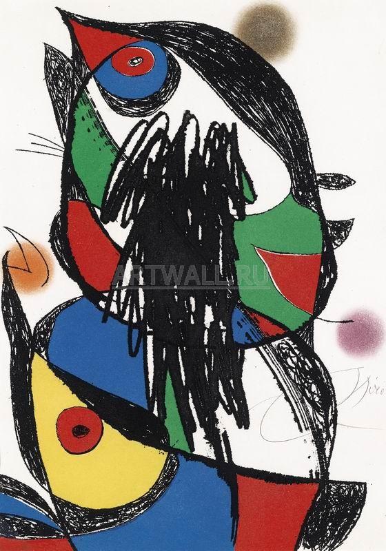 Миро Хоан, картина Египетский переходМиро Хоан<br>Репродукция на холсте или бумаге. Любого нужного вам размера. В раме или без. Подвес в комплекте. Трехслойная надежная упаковка. Доставим в любую точку России. Вам осталось только повесить картину на стену!<br>